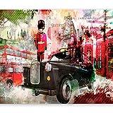 murando Papier peint intissé 350x256 cm Décoration Murale XXL Poster Tableaux Muraux Tapisserie Photo Trompe l'oeil London 10110904-4