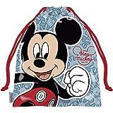 ARDITEX WD13187 Bolsa Merienda 26.5X21.5cm de Disney-Mickey