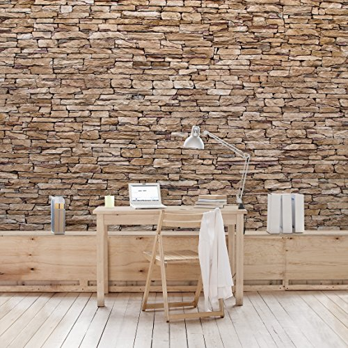 preisvergleich fototapete steintapete crete stonewall. Black Bedroom Furniture Sets. Home Design Ideas