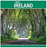2019Irland quadratisch Wand Kalender Weihnachten Geburtstag Geschenk Irische Landschaften Irland Castles Fotografien Szenen