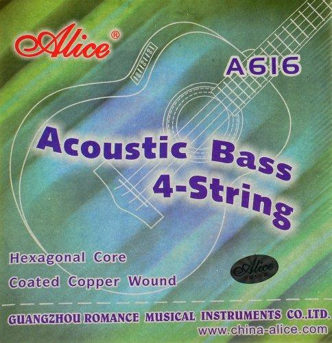 Alice Stahl Gitarrensaiten für Akustik Bass