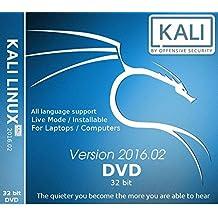 Kali Linux 32 Bit 2016.2 DVD (DVD)
