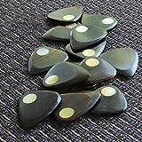 Planet Tones Gold Mother of Pearl Single Plectrum Médiator pour Guitare