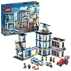 Idea Regalo - Lego City 60141 - Set Costruzioni Stazione di Polizia