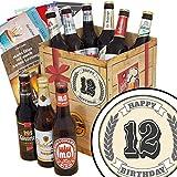 Geschenk zum 12.   Ostdeutsche Biere   Bier Geschenk