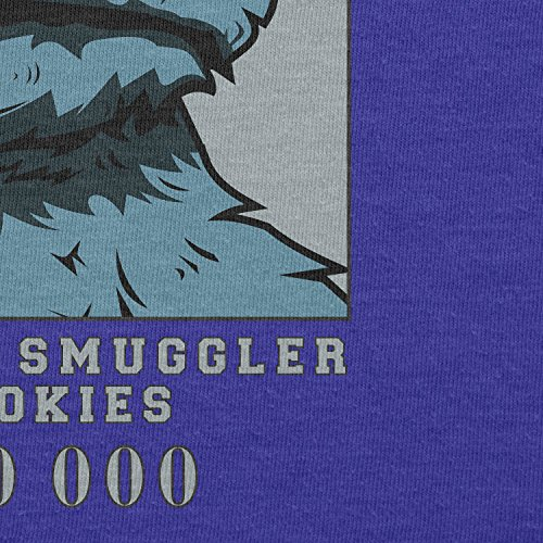 Texlab – Wanted Thief and Smuggler of Cookies – sacchetto di stoffa Marine