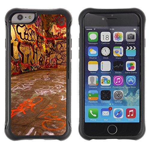 Graphic4You Art Drawing Design Shockproof Anti-Rutsch Weichen Hülle Case Tasche Schutzhülle für Apple iPhone 6 Plus / 6S Plus Design #9