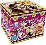 Star Licensing Disney Soy Luna Cofanetto Portagioie, Cartone, Multicolore, 10x10x8.5 cm