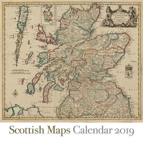 Scottish Maps Calendar 2019 (Calendars 2019)