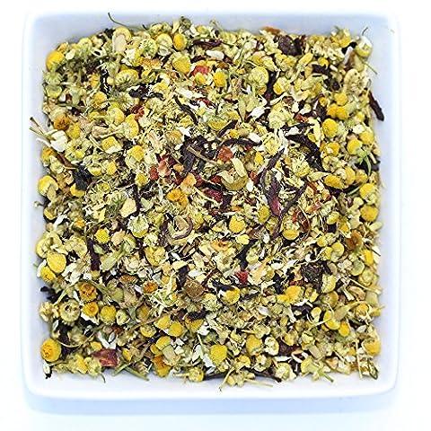 Orange Chamomile Comfort - Ginger & Chamomile Herbal Loose Tea - Caffeine Free - Organic - Tealyra (110g / 4oz)
