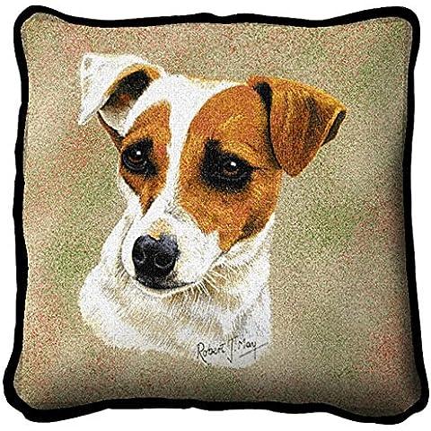 Jack Russell, Cuscino da ricamare, motivo: cane