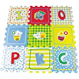 Imaginarium - Puzzle-alfombra para gimnasia de bebé, Puzzle Area Bbfitness (87177)