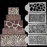 september-europe 4Hochzeit Geburtstag Kuchen dekorieren Bakery Tools, Zebras und Leopard Print Kuchen, Vorlagen, Fondant Vorlage Schimmel