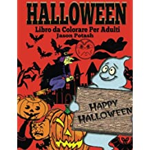Halloween Libro da Colorare Per Adulti