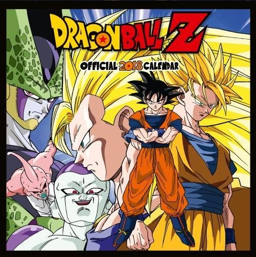 Dragon Ball Z Official 2018 Calendar - Square Wall Format