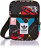 adidas Uni Festival Soccer Schultertasche, Multicolor/Black, 13 x 17 x 3 cm, 0.6 Liter