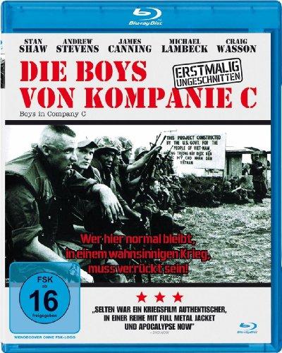 Die Boys von Kompanie C (inkl. dt. Kinoversion) - Uncut [Blu-ray] [Special Edition]