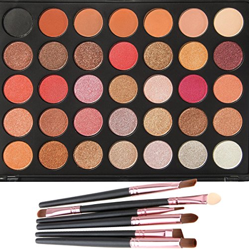 makeup-glitter-eyeshadow-palette-lover-bar-35-warm-colour-nature-matte-shimmer-nude-earth-tone-profe