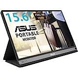 """Asus MB16AC - Monitor portátil de 15.6"""" FullHD (1920x1080, conectividad híbrida, USB-C, Low Blue Light, Antiparpadeo) Negro"""