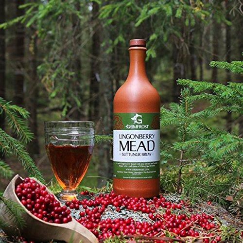 Grimfrost Lingonberry Mead - Schwedischer Heidehonig-Met mit Preiselbeeren und Kiefernsprossen...