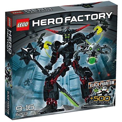 LEGO Hero Factory 6203 - Black Phantom (Lego Hero Factory)