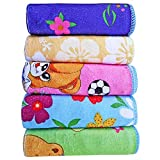 Littly-Baby-Wash-Cloths-Hankies-Pack-of-5-Multicolor