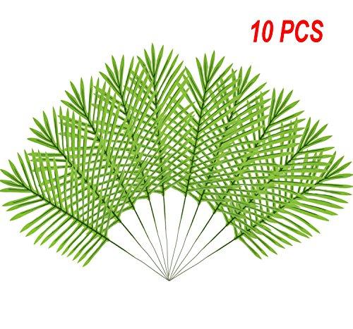 E-HAND ehand Künstliche Palme Faux Blätter Grün Pflanzen Grün für Blumen Arrangement Hochzeit Dekoration 655,9cm