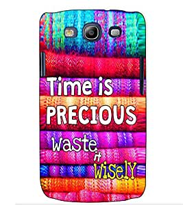Fuson Designer Back Case Cover for Samsung Galaxy S3 Mini I8190 :: Samsung I8190 Galaxy S Iii Mini :: Samsung I8190N Galaxy S Iii Mini (Time is precious theme)