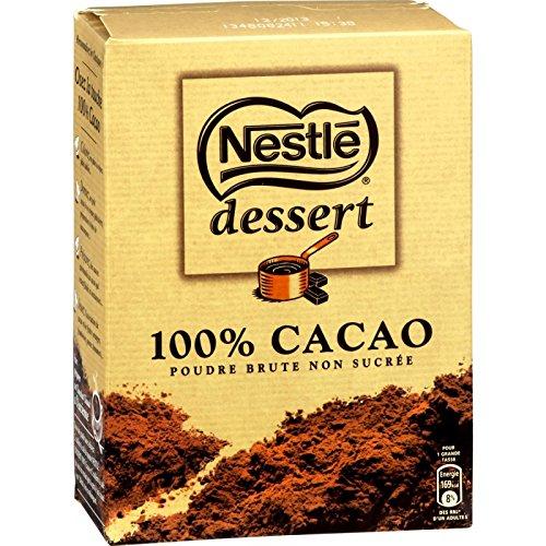 Preisvergleich Produktbild Nestle dessert 100% CACAO Kakao non Sucré kein Zucker