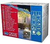 Konstsmide 3610-110 Micro LED Lichterkette/für Außen (IP44) / 24V Außentrafo / 40 warm weiße Dioden/schwarzes Kabel