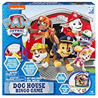 Cardinal Games 6038341 Paw Patrol Dog House Bingo Game, Multicolour
