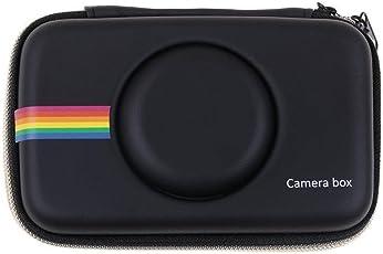 Diuspeed NEW Retro Schutzhülle, Cover Aufbewahrungstasche für Kopfhörer Data Line und Polaroid Snap & Snap Touch Sofortbild-Digitalkamera