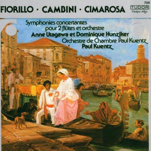 Sinfonia Concertante für 2 Flöten und Orchester / Konzert für 2 Flöten