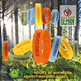 Best Bug Repellent For Campings - KINGSBOM Mosquito Repellent Bracelets,100% All Natural Plant-Based Oil Review
