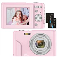 Fotocamere Digitali Compatte 1080P HD Macchina Fotografica 36 Mega Pixel 2,4 Pollici LCD Ricaricabile Vlogging Mini…