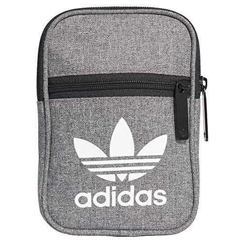 adidas Festival Casual Umhängetasche, Black/White, One Size