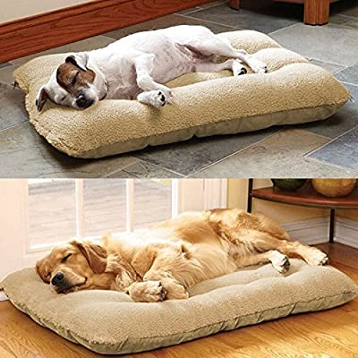 tinkertonk XL Puppy Pets Dog Cat Kitten Bed Cushion Pillow Nest Mat 100×65cm,100% Polyester