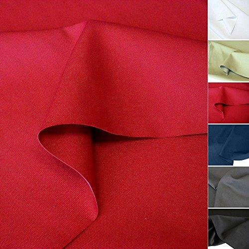 TOLKO Baumwollstoff Meterware mit Polyester | Mittelschwerer Canvas Segeltuch Stoff als Stabiler und...
