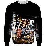 Good Guys Chucky Camiseta For Hombre Cuello Redondo Impreso ...