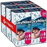 Huggies DryNites Boys Pants 8-15 Years, Designs May Vary - 6 Packs (Total 6 x 9 Pants)