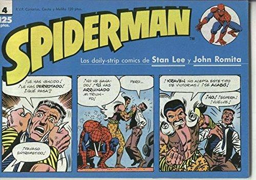 Spiderman tiras de prensa numero 04