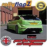 rallyflapZ bavettes Ultime Vert 3mm polyuréthane PU