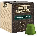 Note D'Espresso Preparato Solubile per Bevanda al Gusto di Cioccolato e Menta - 280 g (40 x 7 g) Esclusivamente Compatibili c