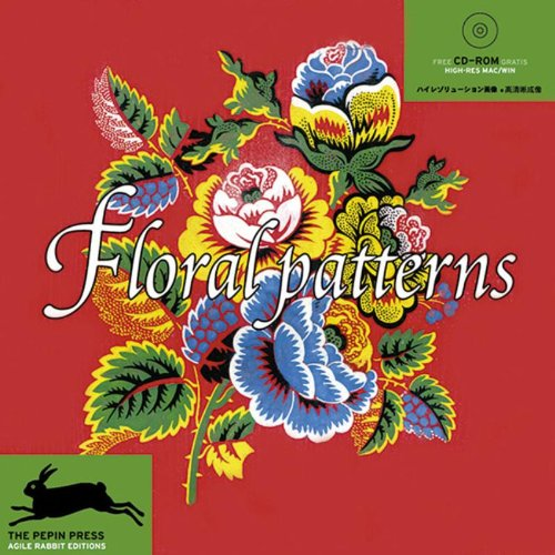 Floral Patterns / Blumenmuster + CD ROM