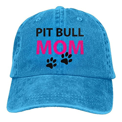 LLALUA Trucker Baseball Hat Pit Bull Mom Polo Cowboys Caps Unisex - Theme Tennis Polo