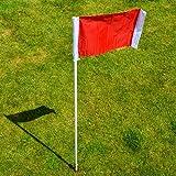 Football Corner Flag - Spring Loaded - Set Of 4 [Net World Sports]