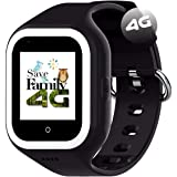 Reloj-Smartwatch 4G Iconic con Videollamada & GPS instantáneo Infantil y Juvenil SaveFamily. WiFi, Bluetooth, cámara, Fondos