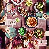 BELLE VOUS 200-teiliges Einweg Holzbesteck Set - Gabeln (100), Löffel (50) und Messer (50) - Umweltfreundliches Geschirr - Reise Besteck für Partys, Hochzeiten und Picknicks - Einwegbesteck aus Holz - 6