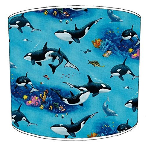 20,5cm Decke Killer Whale orca Print Lampenschirme 5 -