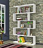 CORE-Bibliothque-Blanc-Brillant-tagre-de-Rangement-tagre-pour-livres-tagre-pour-bureau-salon-par-le-design-moderne-